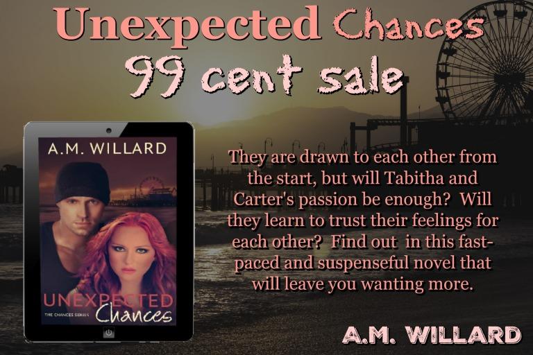 Unexpected Chances 99 cent sale