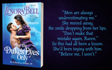 Teaser Graphic - For the Duke's Eyes Only by Lenora Bell - 4.png